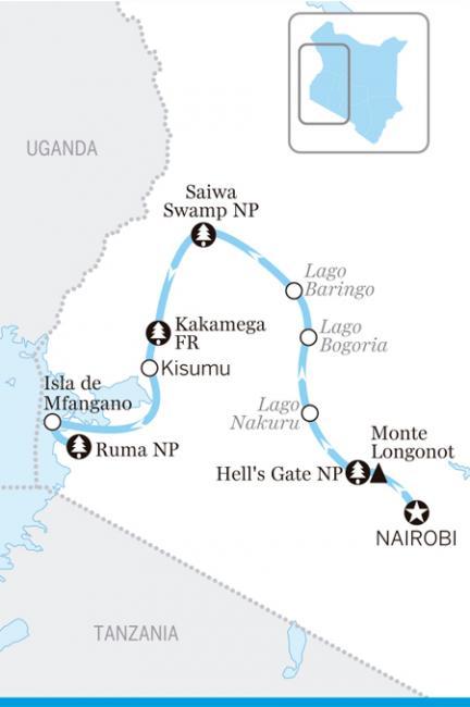 Itinerario por el valle del Rift y humedales