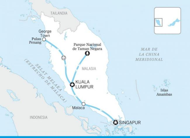 Malasia y Singapur indispensables