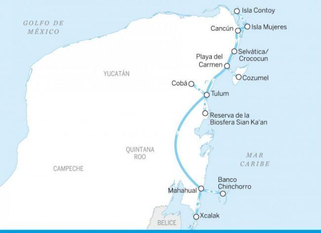 Riviera Maya y la costa maya