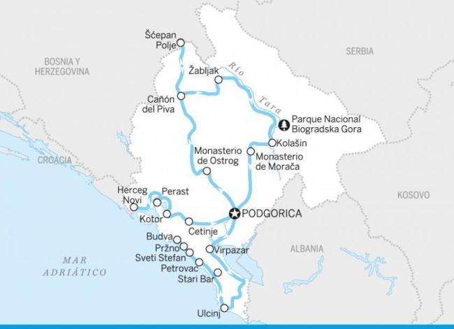 Por todo Montenegro