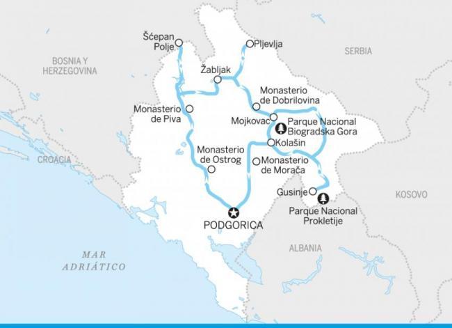 El recóndito norte de Montenegro