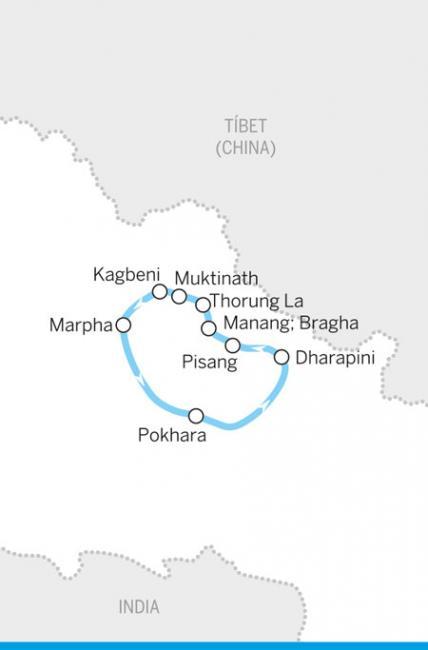 'Trekking' por el circuito del Annapurna