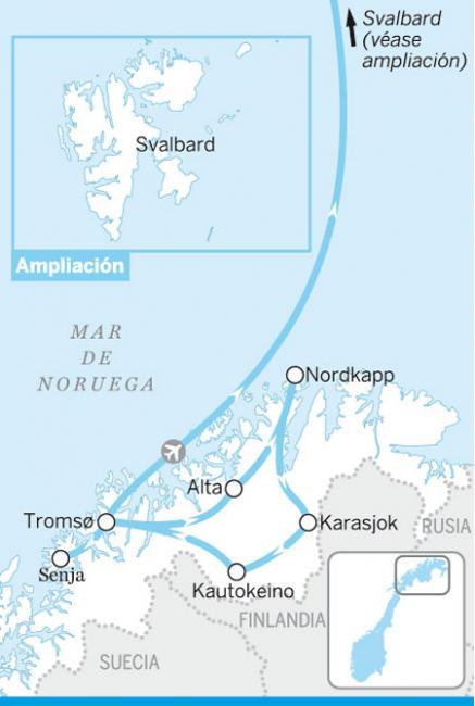 El norte ártico