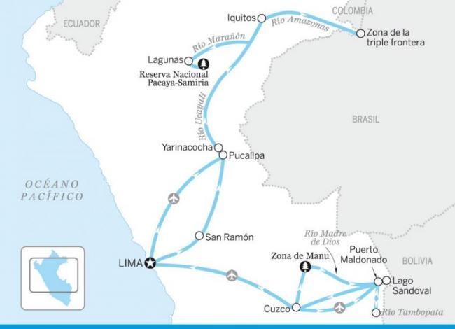 Explorando la Amazonia