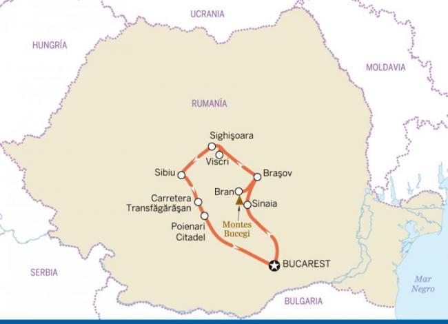 Ciudades y castillos de Transilvania