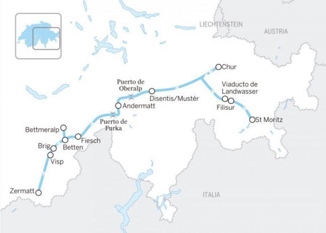 El 'Glacier Express'