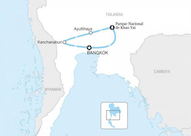 Bangkok y alrededores