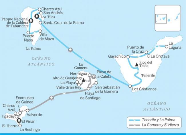 Tenerife y La Palma