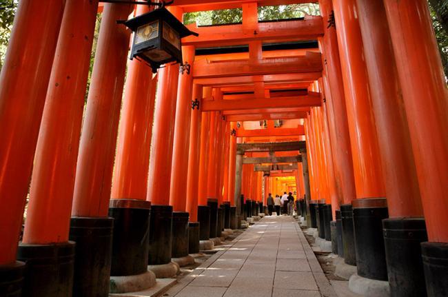 Fushimi Inari-Taisha, Kioto, Japón