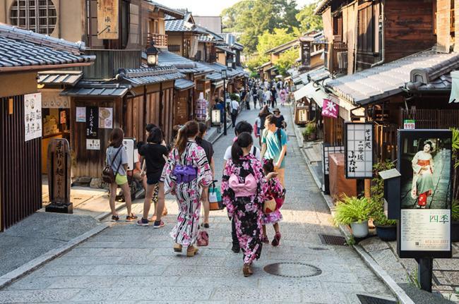 Gion, Kioto, Japón