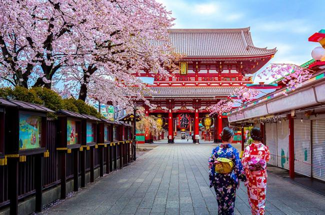 Sensō-ji, Tokio, Japón