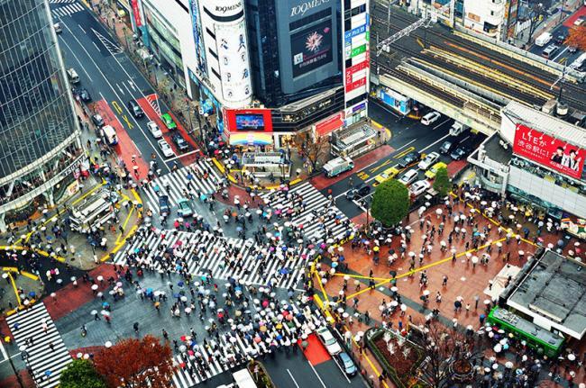 Cruce Shibuya, Tokio