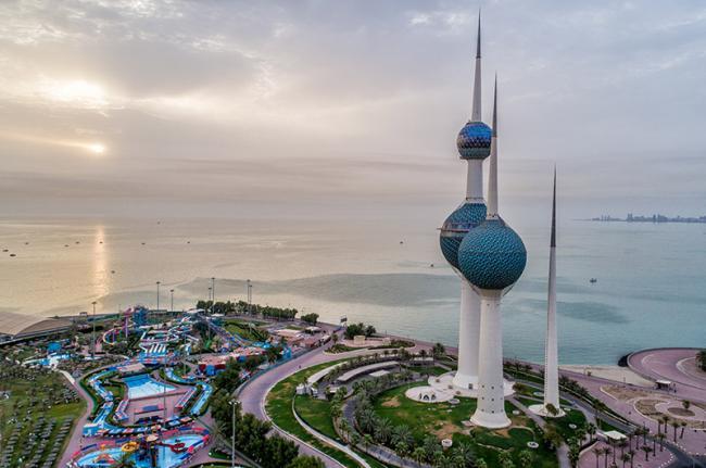 Kuwait Towers, ciudad de Kuwait, Kuwait