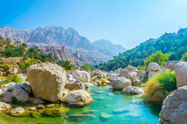 Wadi de Tiwi, Omán