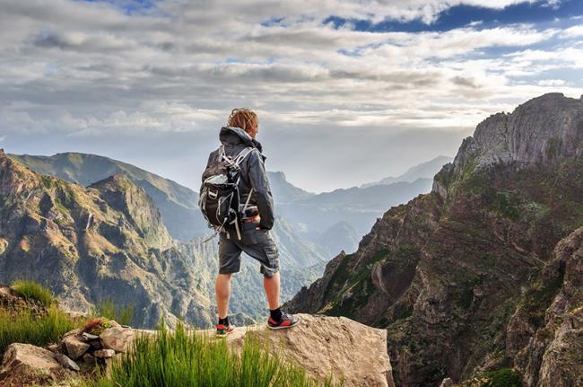 Pico do Arieiro, montañas del interior de Madeira, Portugal
