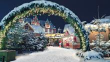 Mercado navideño de Coburgo, Baviera, Alemania