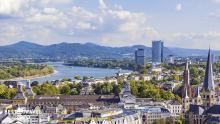 Panorámica de Bonn, Alemania