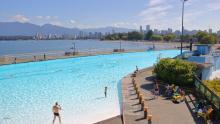 Kitsilano Pool, piscina urbana de Vancouver, Canadá