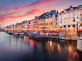 Canal Nyhavn, Copenhague, Dinamarca