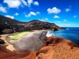 La isla del Golfo, en Lanzarote