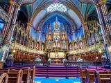 Interior basílica de Notre-Dame, Montreal