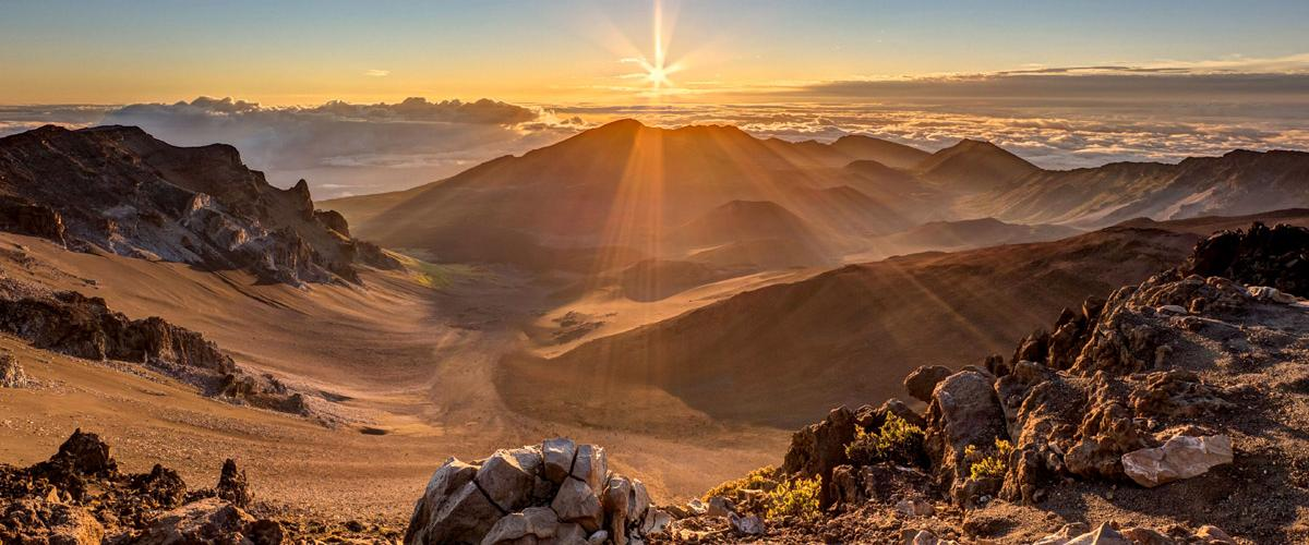 Haleakalā National Park, Maui, Hawái, EE UU