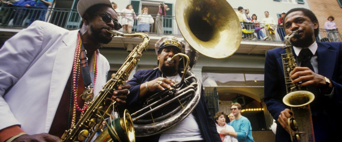 Jazz en Nueva Orleans, Estados Unidos