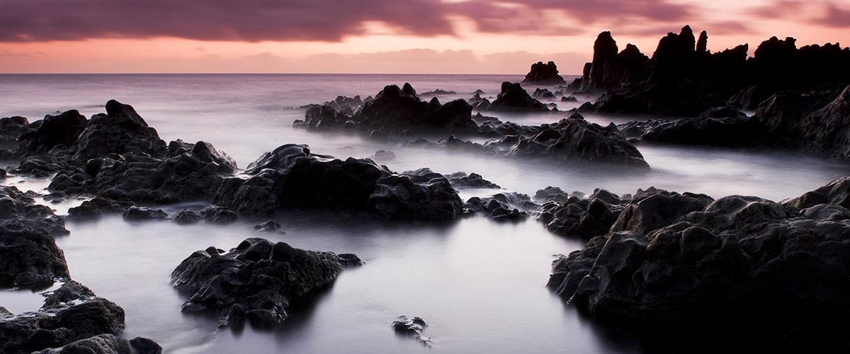 Playa de los Hervideros, Lanzarote, Canarias, España