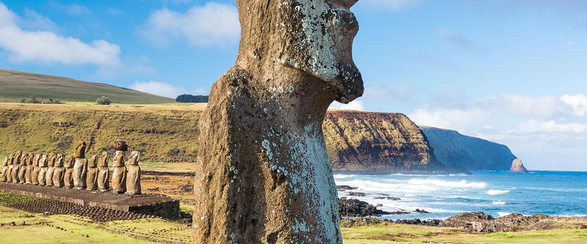 Moáis de la Isla de Pascua, Chile