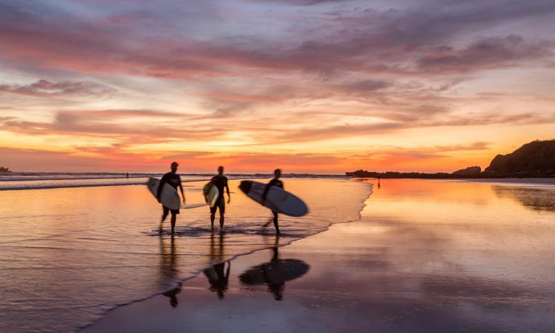 Playa Guiones-Nosara, Costa Rica