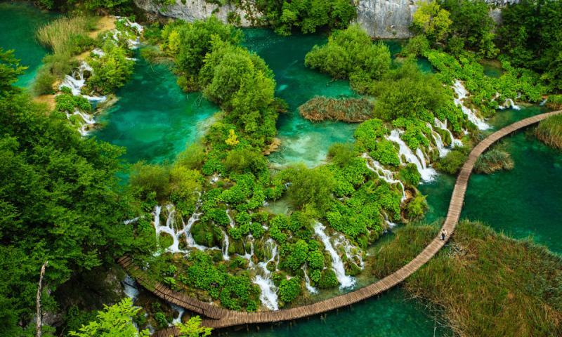 Parque Nacional de los Lagos de Plitvice, Croacia