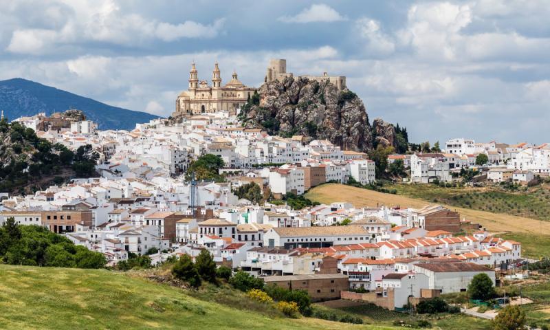 Olvera, Cádiz, Andalucía, España