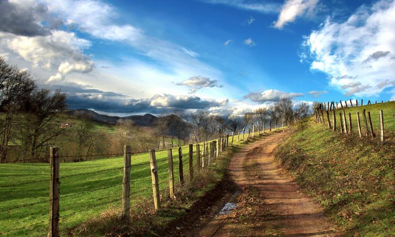 Valle del Baztan, Navarra, España